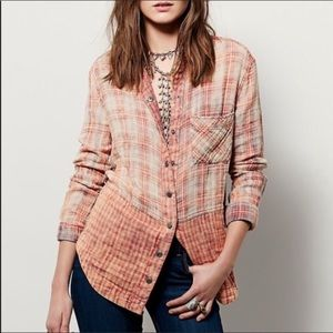 Free People | Lyndsy Button Down Top